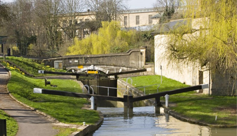 Locks in the Kennet & Avon Canal