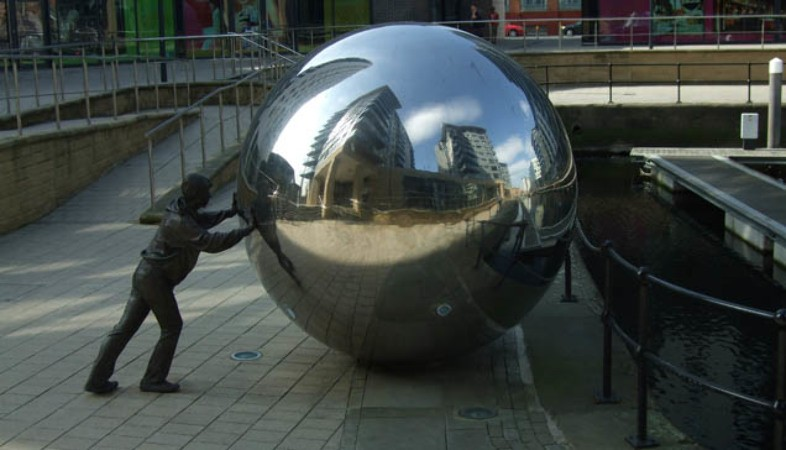 Clarence Dock public art