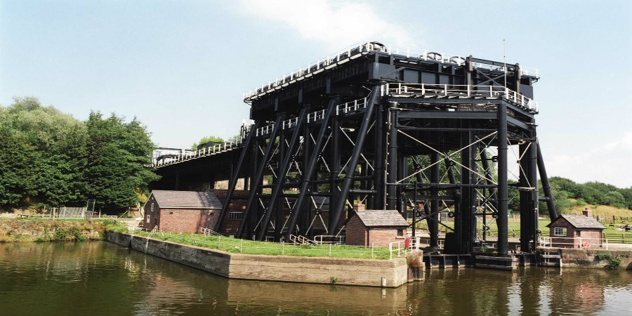 Anderton Boat Lift, River Weaver