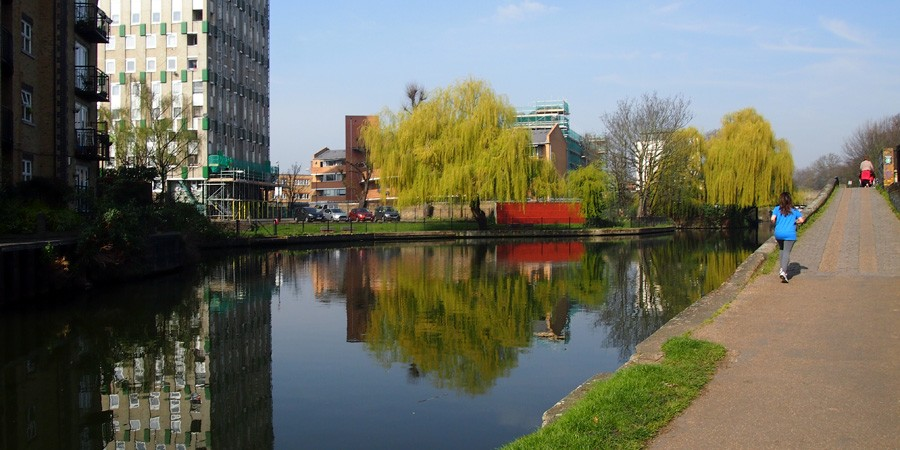 photo of bow wharf