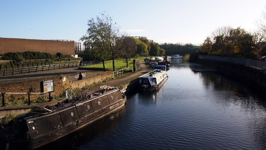 photo of three mills on the river lea
