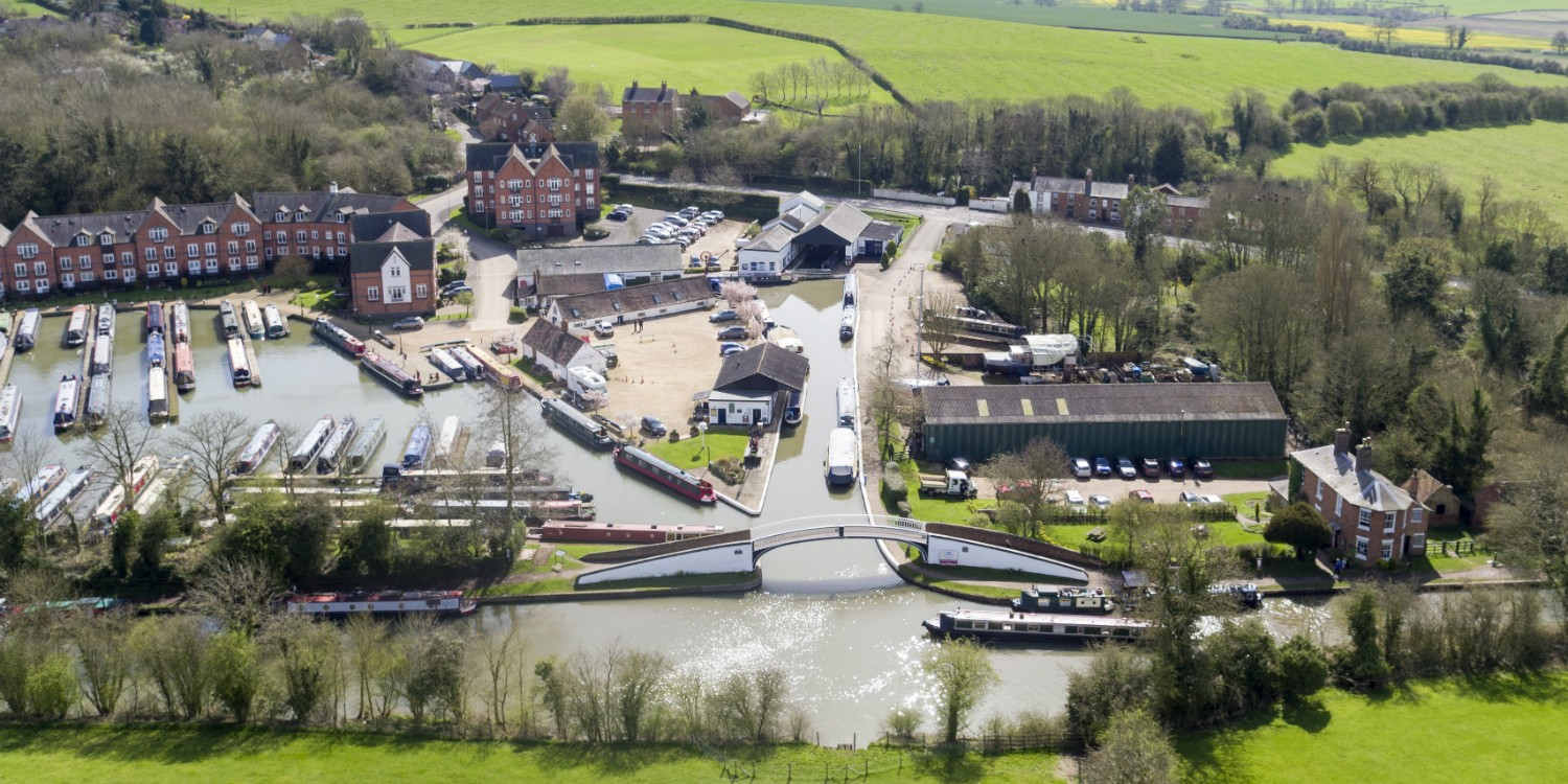 Braunston from the air
