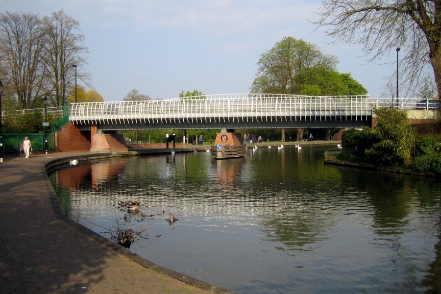 Parkway Bridge in Newbury