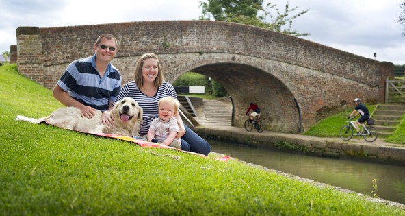 Picnic at Braunston