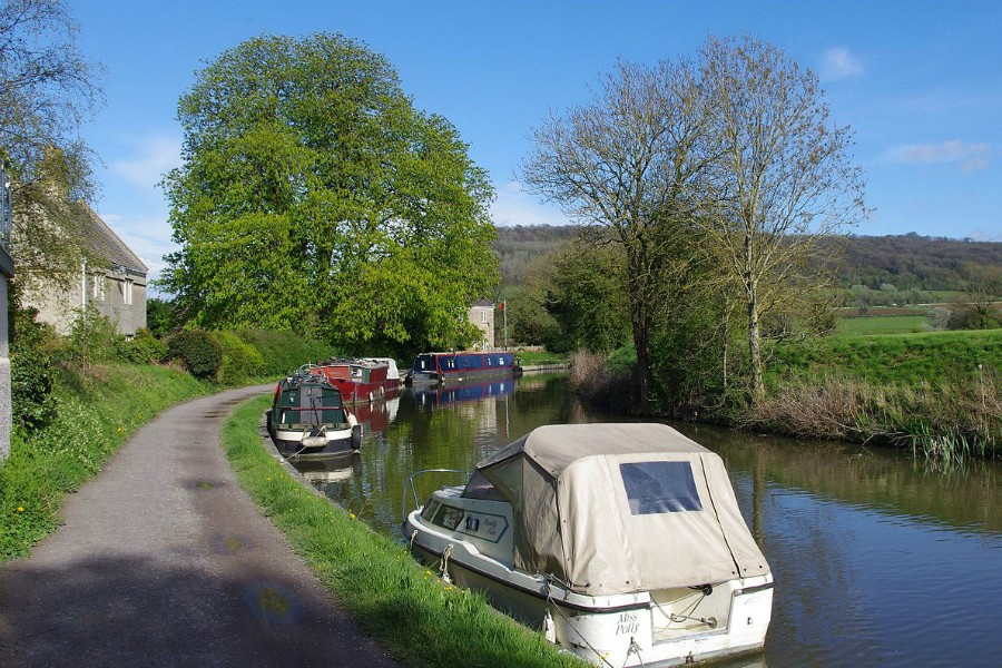 Boats at Bathampton