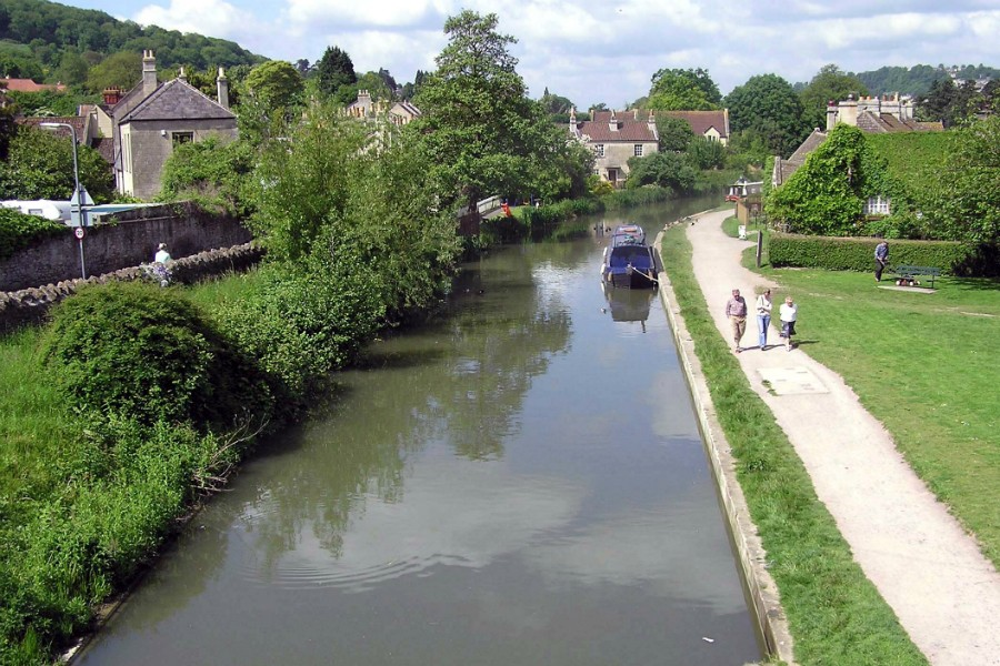 Bathampton on the K&A Canal
