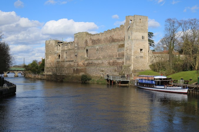 River Trent and Newark Castle