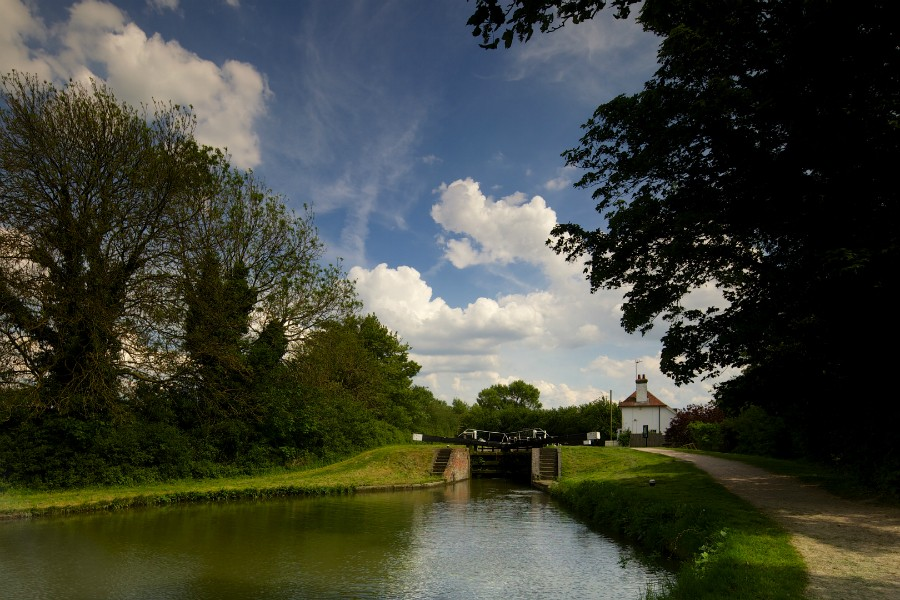 The lock cottage at Tring