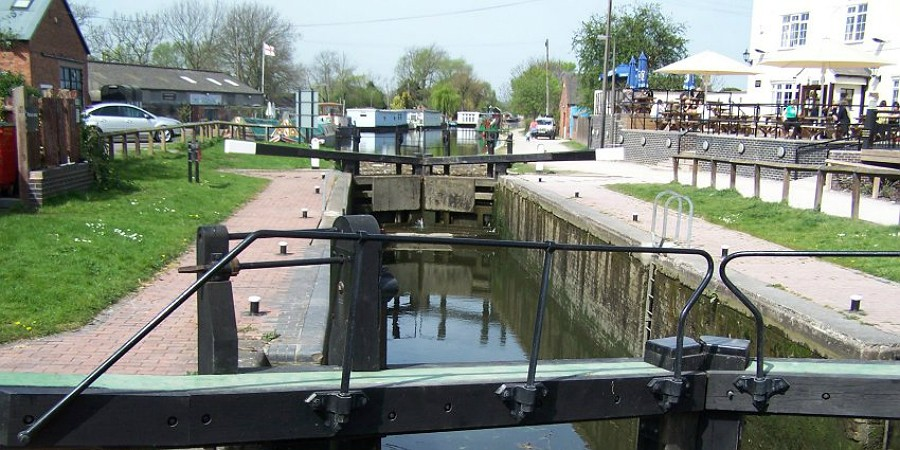Trent Lock from the south