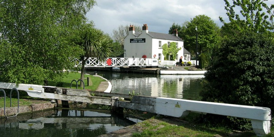 Saul Junction, Gloucester & Sharpness Canal
