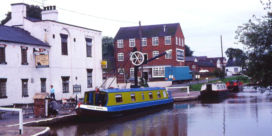 Audlem Mill, Shropshire Union Canal