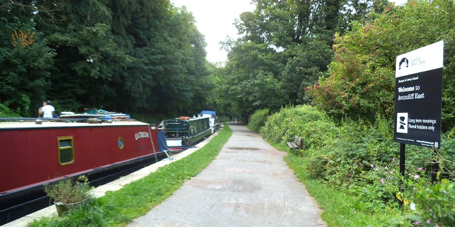Mooring at Avoncliff