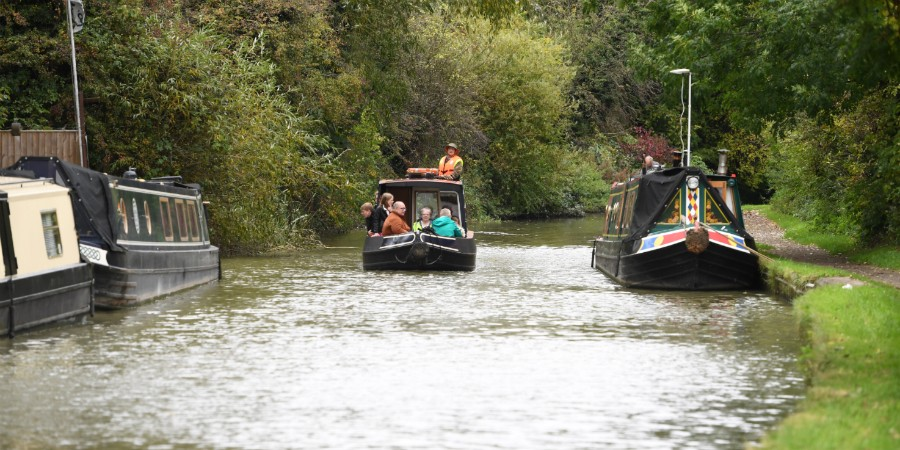 Boat trip on the Oxford Canal (Credit Jane Russell)