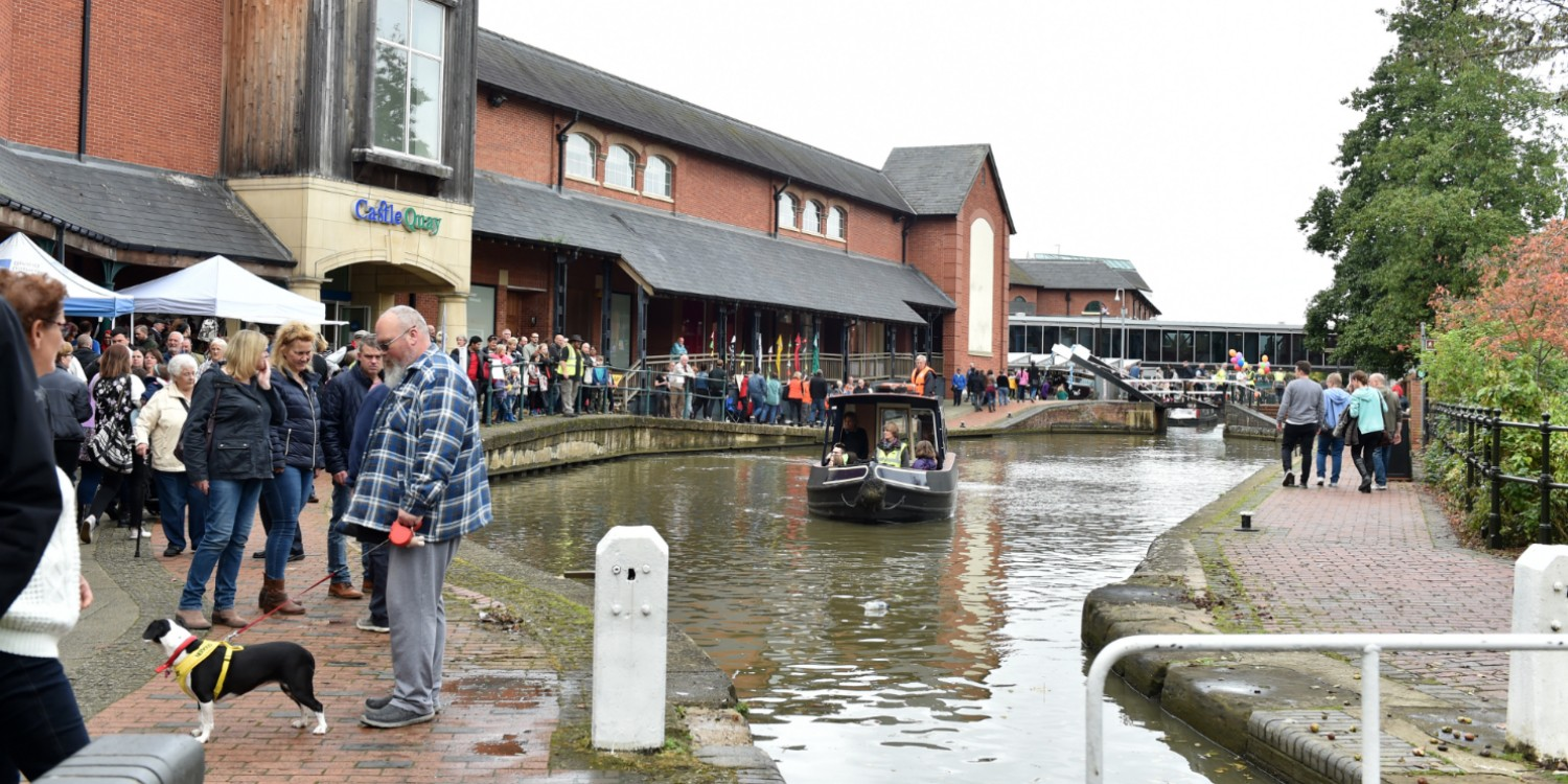 Canal fun at Banbury (Credit Jane Russell)