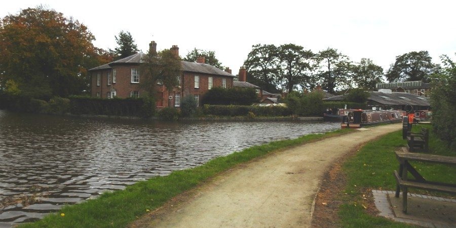 The canal at Ellesmere