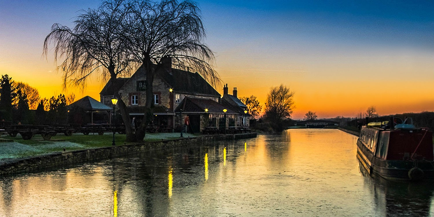 Sunset at Seend courtesy Craig Purvis