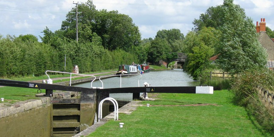 Seend Locks on the Kennet & Avon Canal