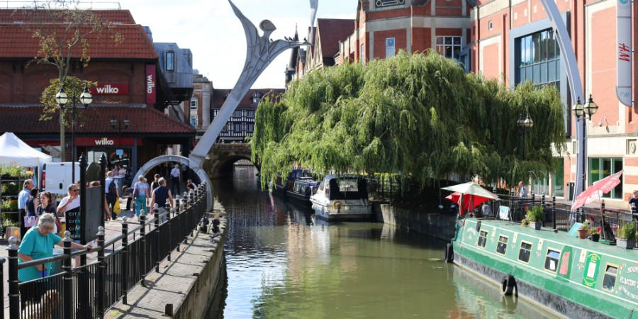 River Witham, Lincoln