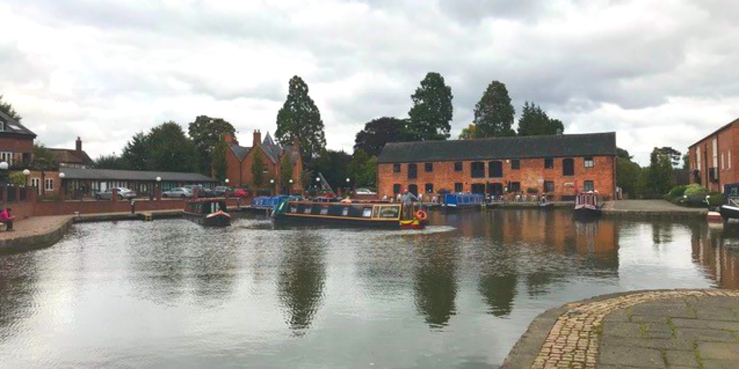The basin in Market Harborough