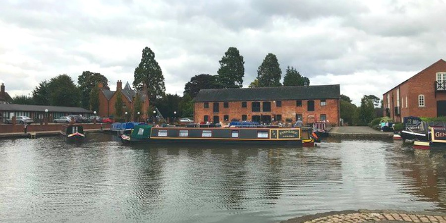Boating in Market Harborough courtesy Steve Goddard