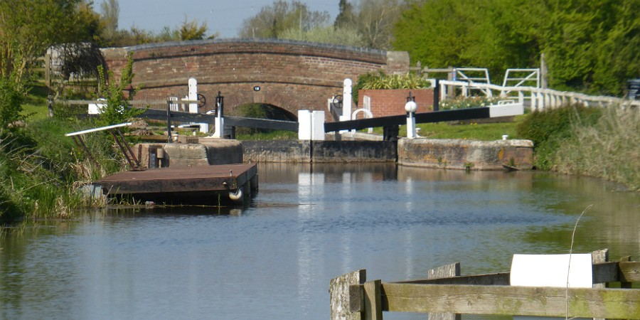 The bridge at Maunsel Locks