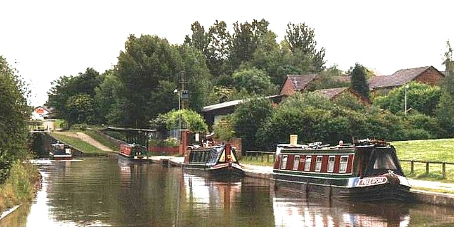 Middlewich lock 3