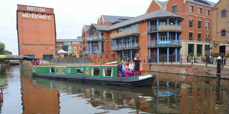 Canalside, Castle Wharf, Nottingham