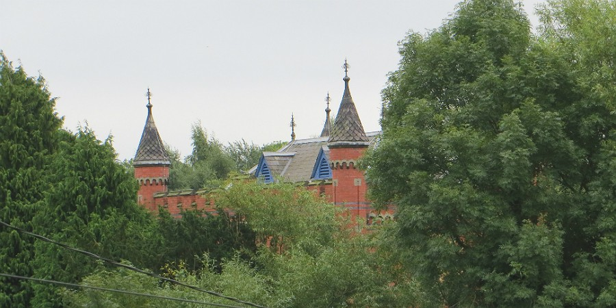 Bratch Pumping Station spires