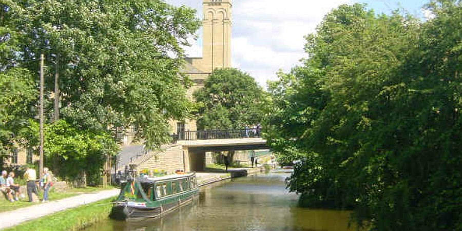 Boats in Saltaire