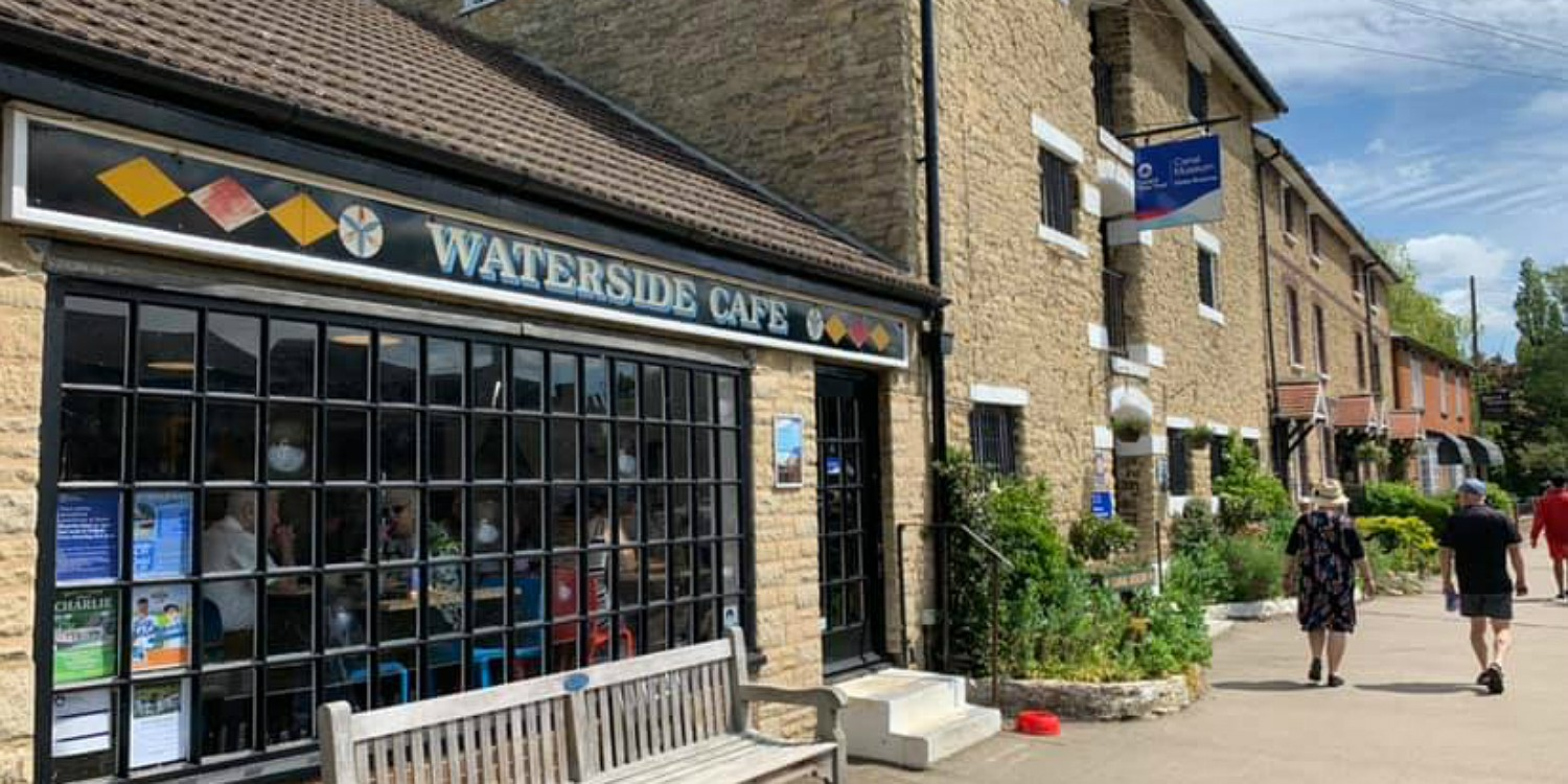 Waterside Cafe at The Canal Museum