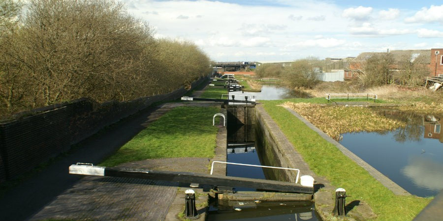 Locks on Titford Canal