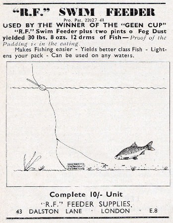 Swim feeder advert