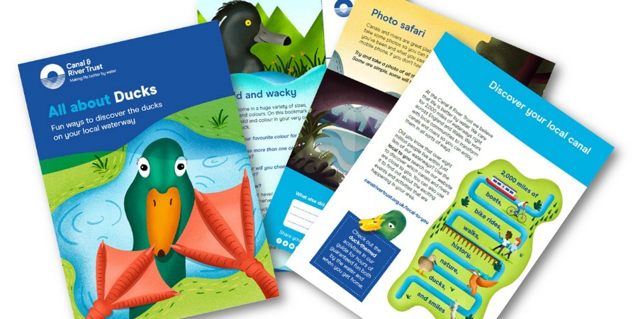 buy popular a8f25 e3994 Free duck activity guide | Canal & River Trust