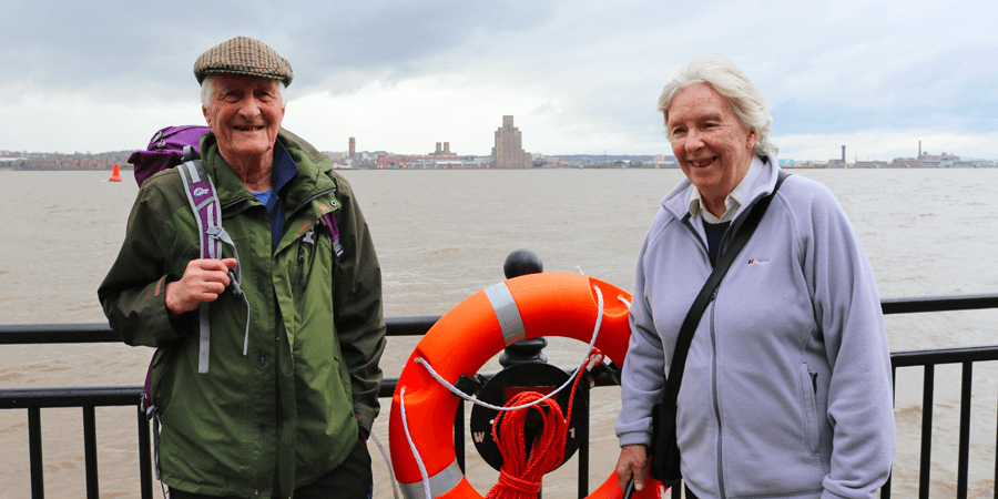 Ann and Jack in Liverpool