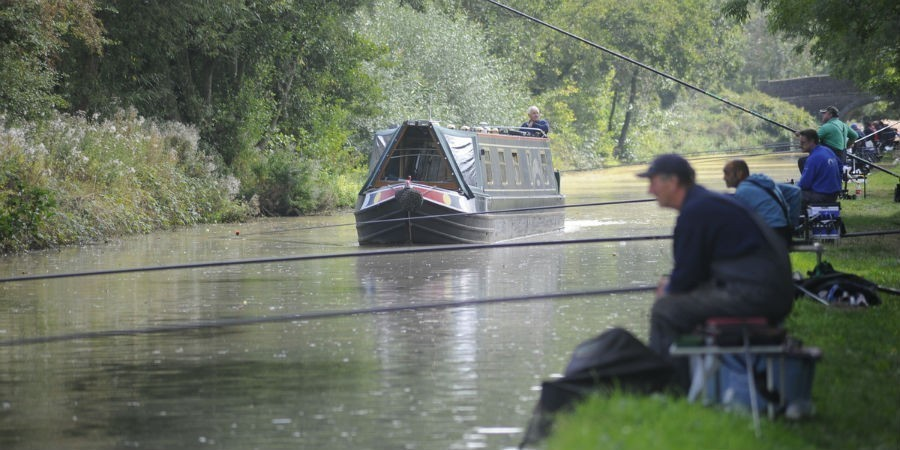 Fishing on the Shropshire Union