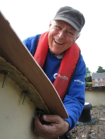 Frank Perra, Volunteer from the National Waterways Museum Ellesmere Port