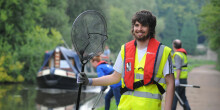 Lead volunteer with the Canal & River Trust
