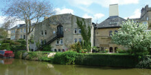 Baird's Maltings malt house by Kennet & Avon Canal