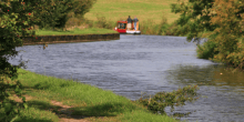 Boat on the Leeds & Liverpool Canal