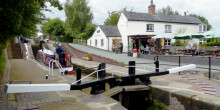 Lockside at Grindley Brook