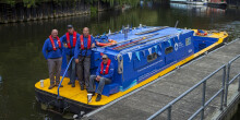 Community workboat volunteers in Bath