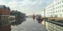 Gloucester & Sharpness Canal from Gloucester Docks