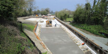 Crickheath basin restoration, Montgomery Canal