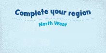 Complete your region: North West