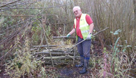 A wildlife haven at diglis canal river trust - Build pond wildlife haven ...