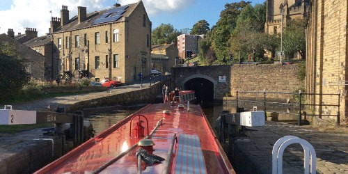 The approach to Tuel Lane Lock