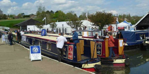 Braunston. National Boat Share Show