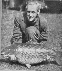 Richard Walker with record carp