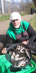 Paul Downes, angling match winner