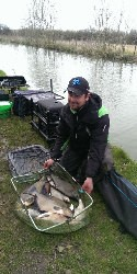 Pete Durrant, angling match winner
